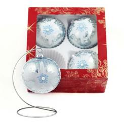 Christmas ornaments decorated with a diameter of 120 millimeters